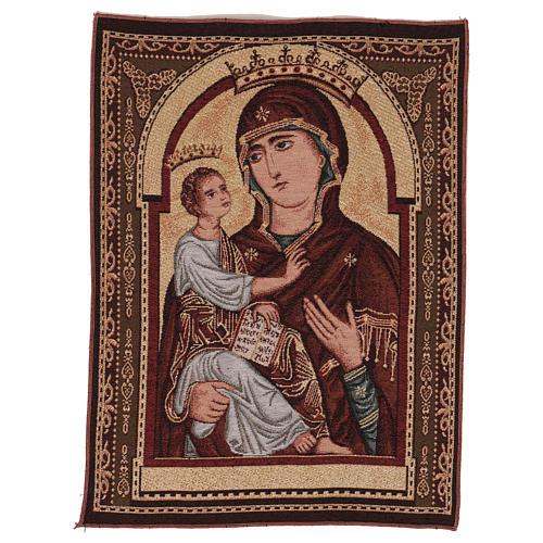 Arazzo Madonna degli Organi Pisa 50x40 cm 1