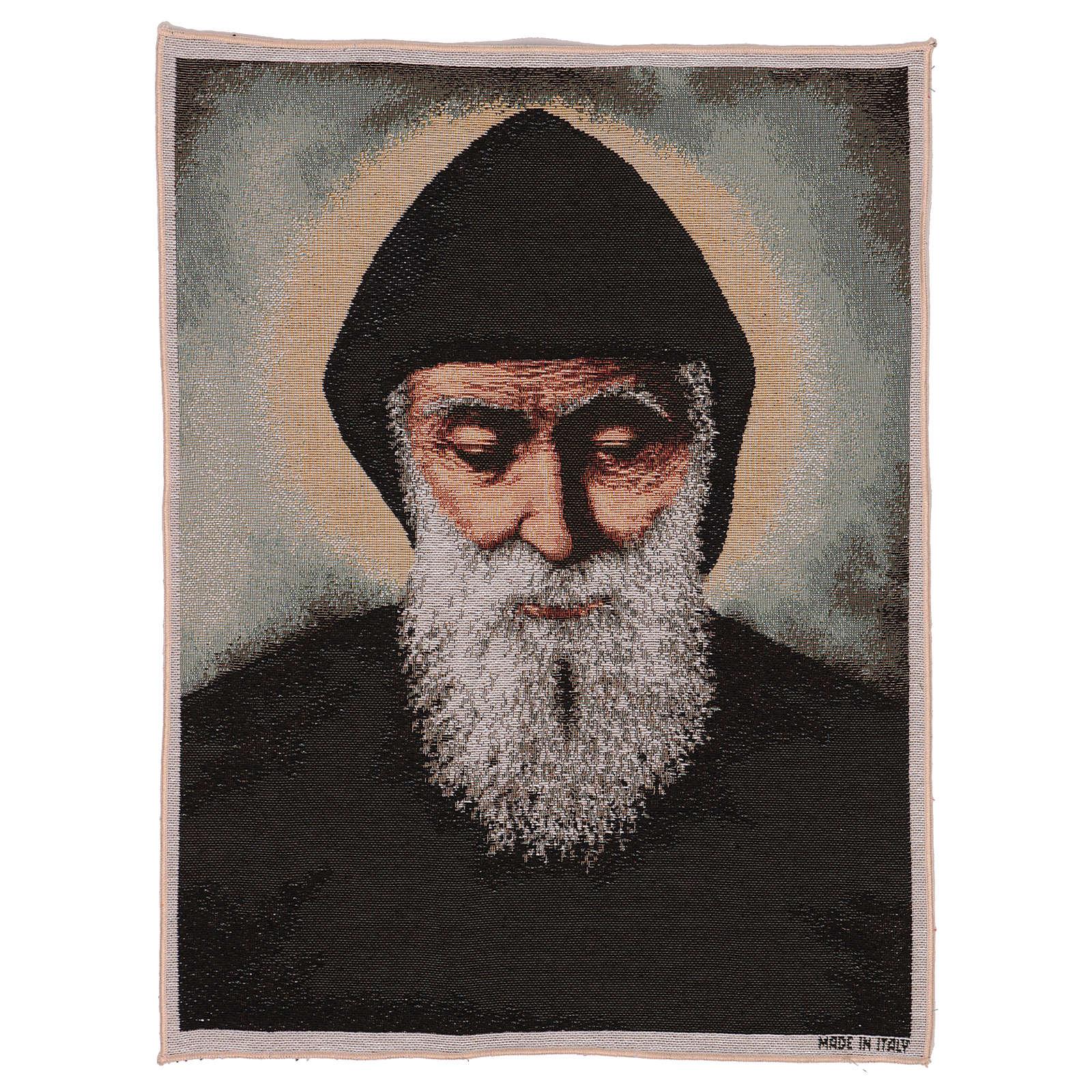 Tapisserie Saint Charbel 50x40 cm 3