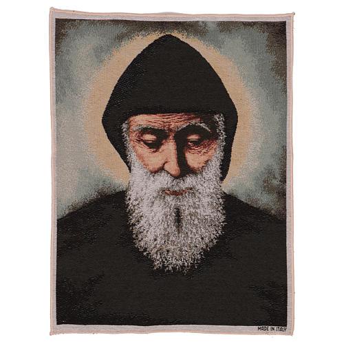 Tapisserie Saint Charbel 50x40 cm 1