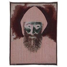 Saint Charbel tapestry 19.5x15.5
