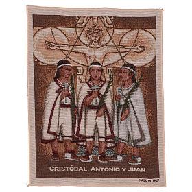 Wandteppich Die Märtyrerkinder von Tlaxcala 40x30 cm s1