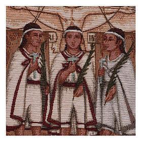 Wandteppich Die Märtyrerkinder von Tlaxcala 40x30 cm s2