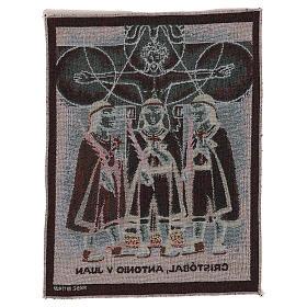 Wandteppich Die Märtyrerkinder von Tlaxcala 40x30 cm s3