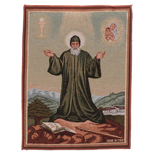 Saint Charbel tapestry 40x30 cm 1
