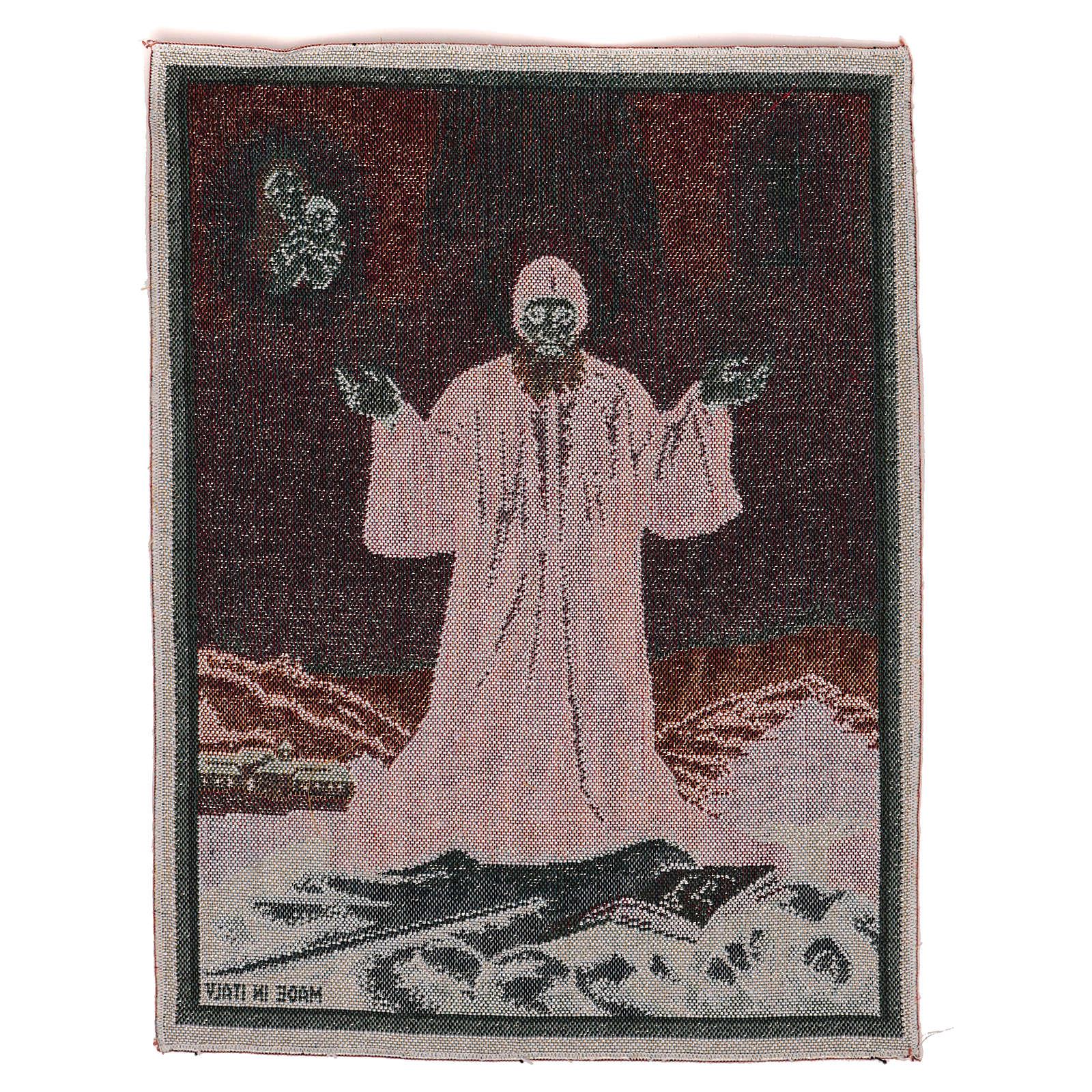Gobelin Święty Charbel 40x30 cm 3