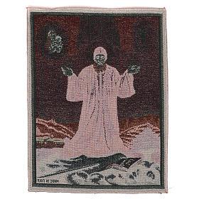 Gobelin Święty Charbel 40x30 cm s3