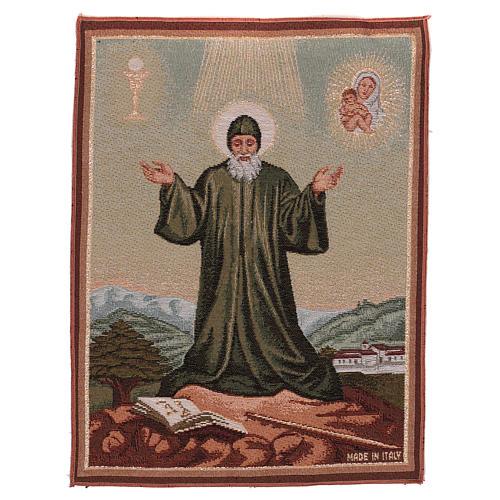 Gobelin Święty Charbel 40x30 cm 1