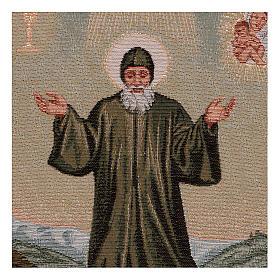Saint Charbel tapestry 15.5x12