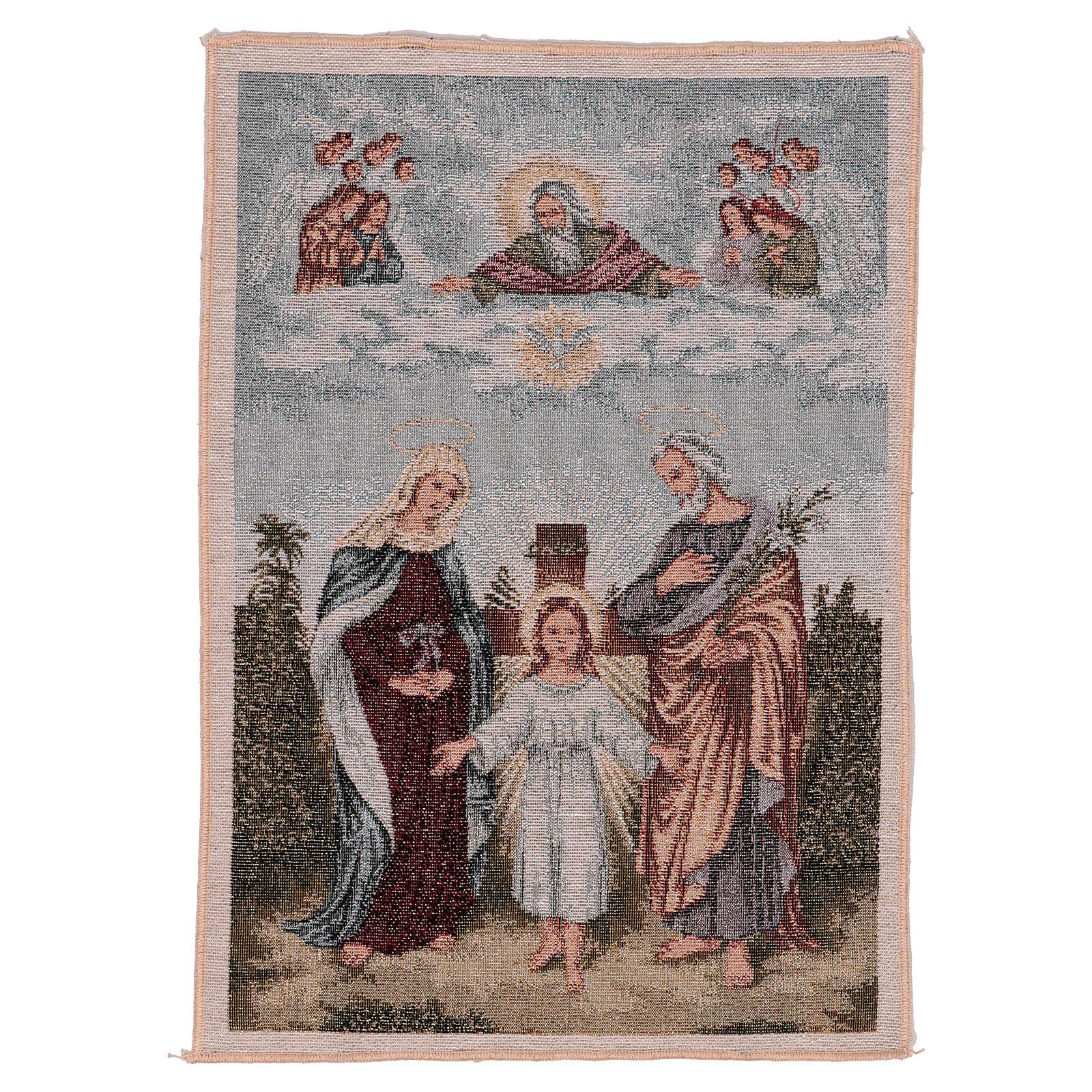 Arazzo Santa Famiglia Moderna 40x30 3