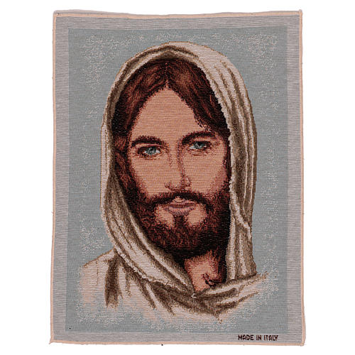 Jesus Christ's face with hood tapestry 40x30 cm 1