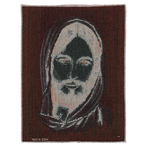 Tapeçaria Santa Face com Capuz 40x30 cm 3