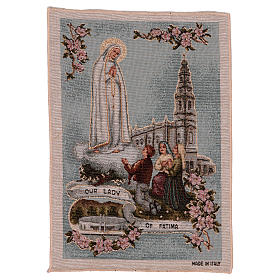 Our Lady of Fatima tapestry 40x30 cm s1