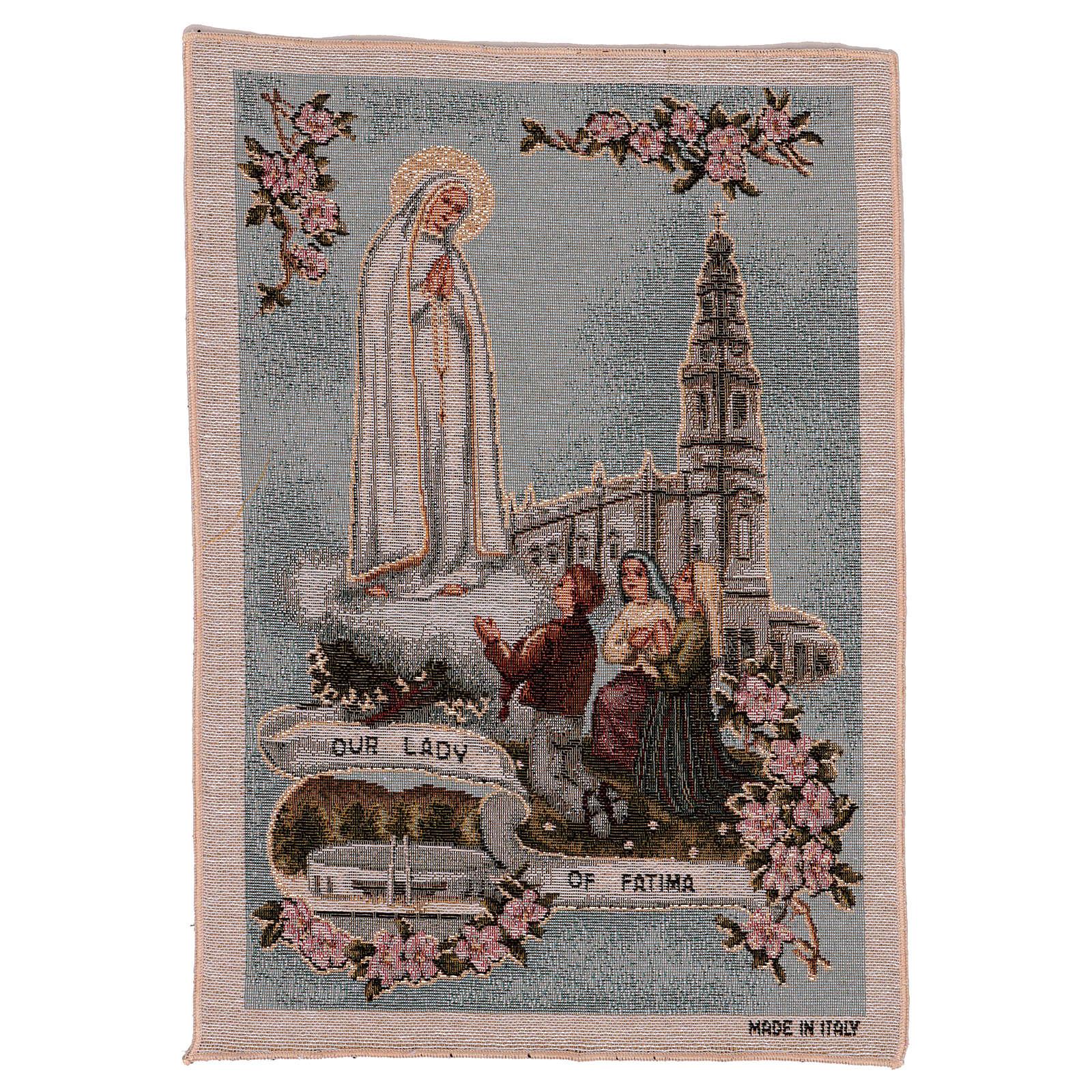 Tapiz Virgen de Fátima 40x30 cm 3