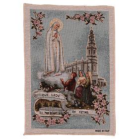 Tapiz Virgen de Fátima 40x30 cm s1