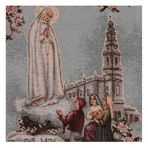 Arazzo Madonna di Fatima 40x30 cm 2