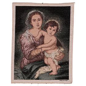 Arazzo Madonna del Murillo 40x30 cm s1