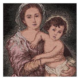 Arazzo Madonna del Murillo 40x30 cm s2