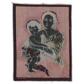 Arazzo Madonna del Murillo 40x30 cm s3