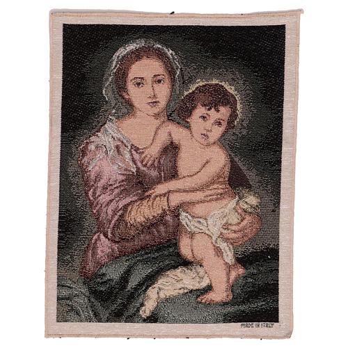 Arazzo Madonna del Murillo 40x30 cm 1