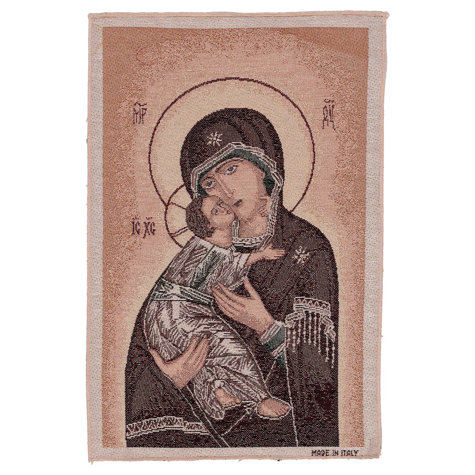 Arazzo Madonna della Tenerezza 45x40 cm 3
