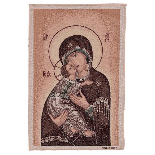 Arazzo Madonna della Tenerezza 45x40 cm 1