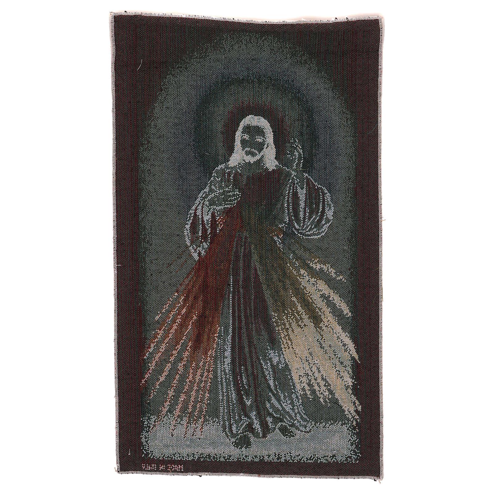 Wandteppich Barmherziger Jesus 50x30 cm 3