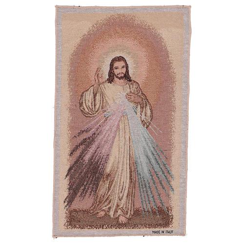 Wandteppich Barmherziger Jesus 50x30 cm 1
