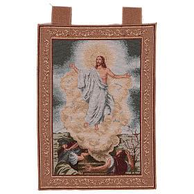 Wandteppich Auferstehung, mit Rahmen und Schlaufen 55x40 cm s1