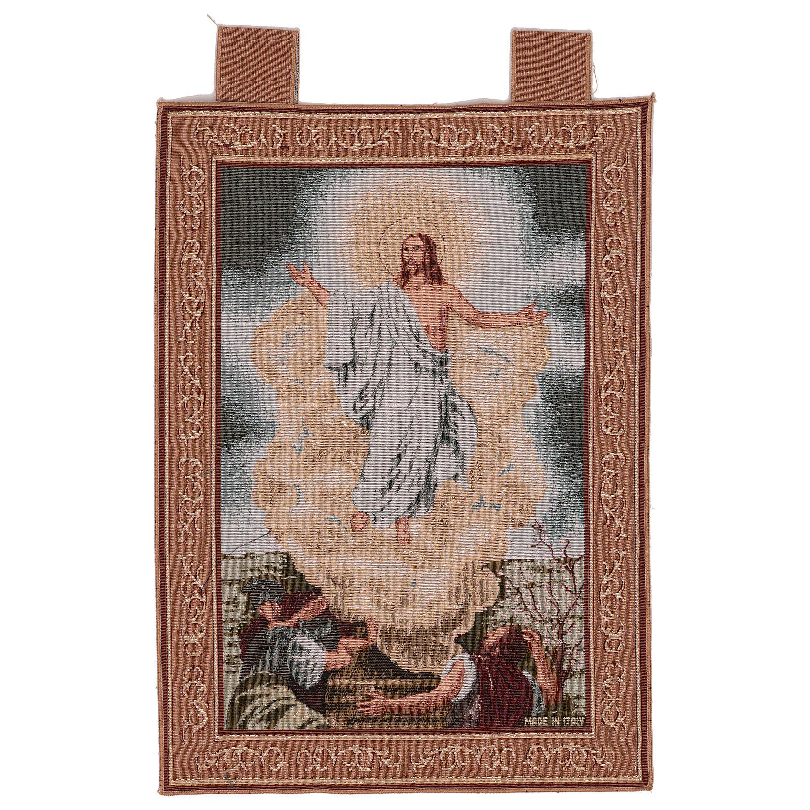 Arazzo Resurrezione cornice ganci 55x40 cm 3