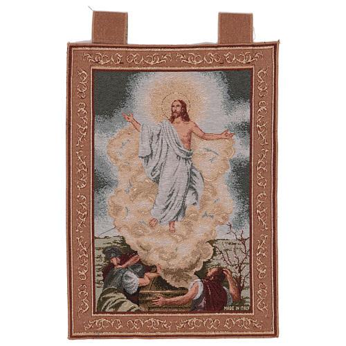Arazzo Resurrezione cornice ganci 55x40 cm 1