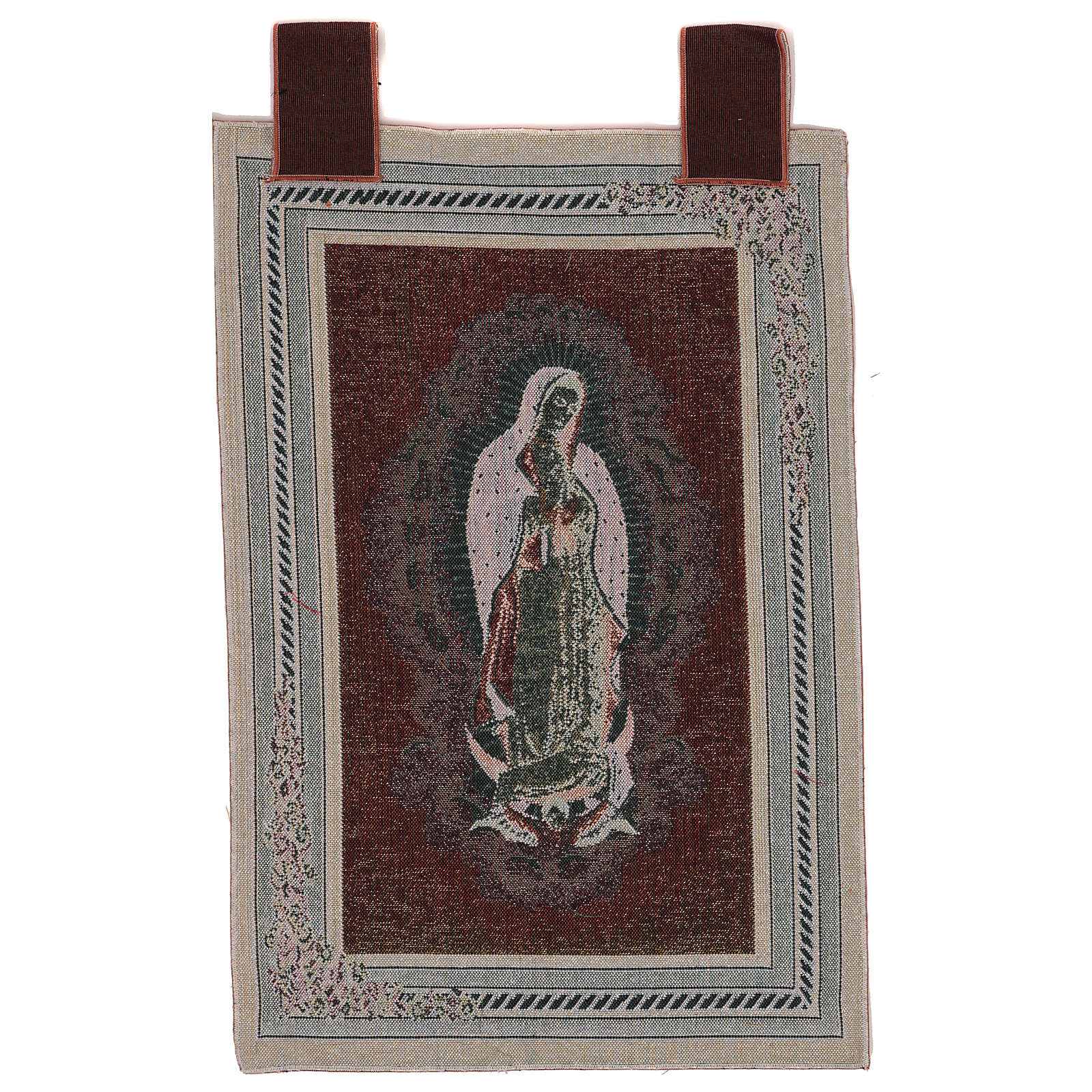 Our Lady Of Guadalupe Tapestry With Frame And Hooks 60x40 Cm