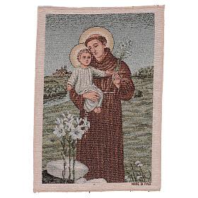 Arazzo S. Antonio da Padova 40x30 cm s1
