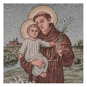 Arazzo S. Antonio da Padova 40x30 cm s2