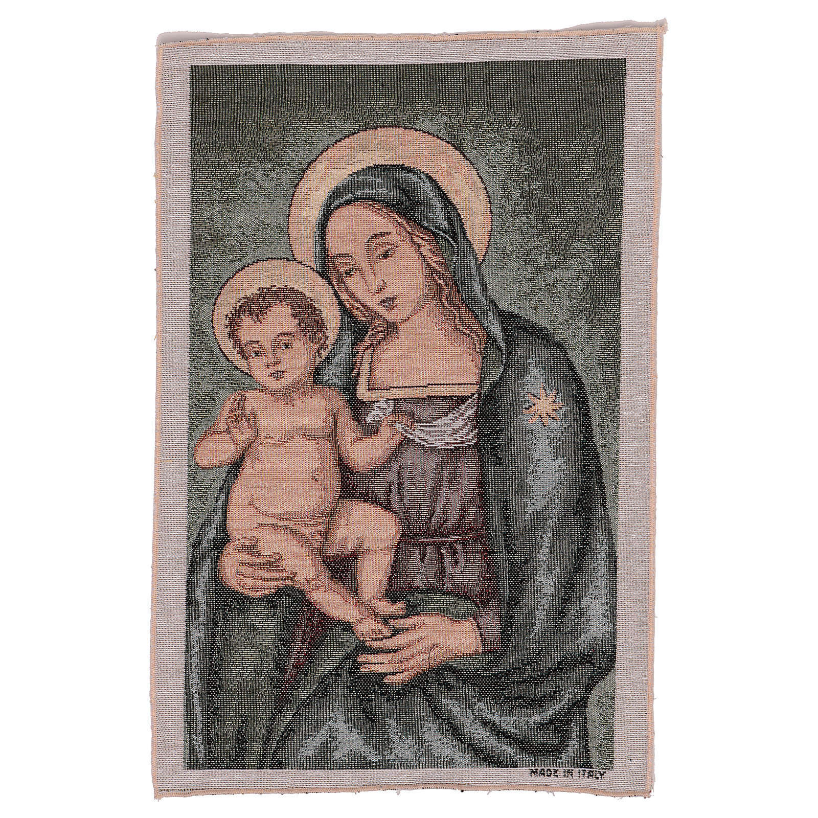 Arazzo Madonna del Pinturicchio 45x30 cm 3
