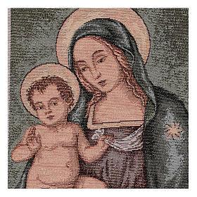 Arazzo Madonna del Pinturicchio 45x30 cm s2