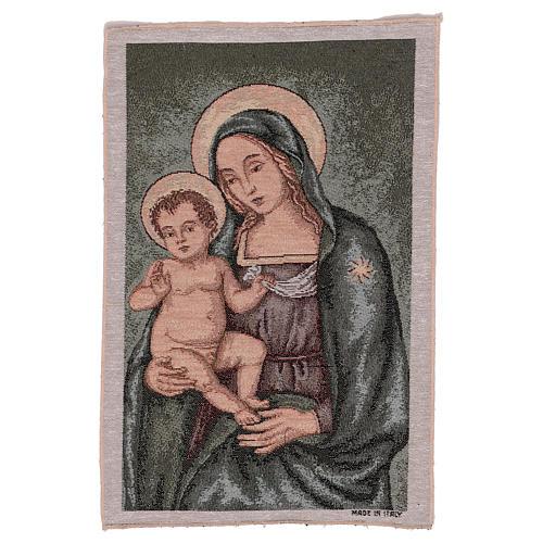 Arazzo Madonna del Pinturicchio 45x30 cm 1