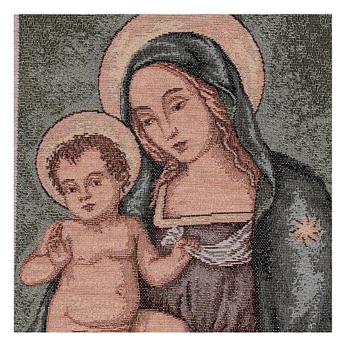 Arazzo Madonna del Pinturicchio 45x30 cm 2