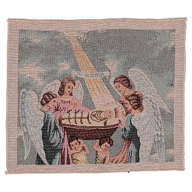 Tapisserie Sainte Vierge Enfant 30X40 cm s1
