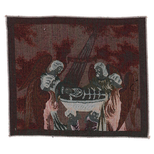 Infant Mary tapestry 12x16