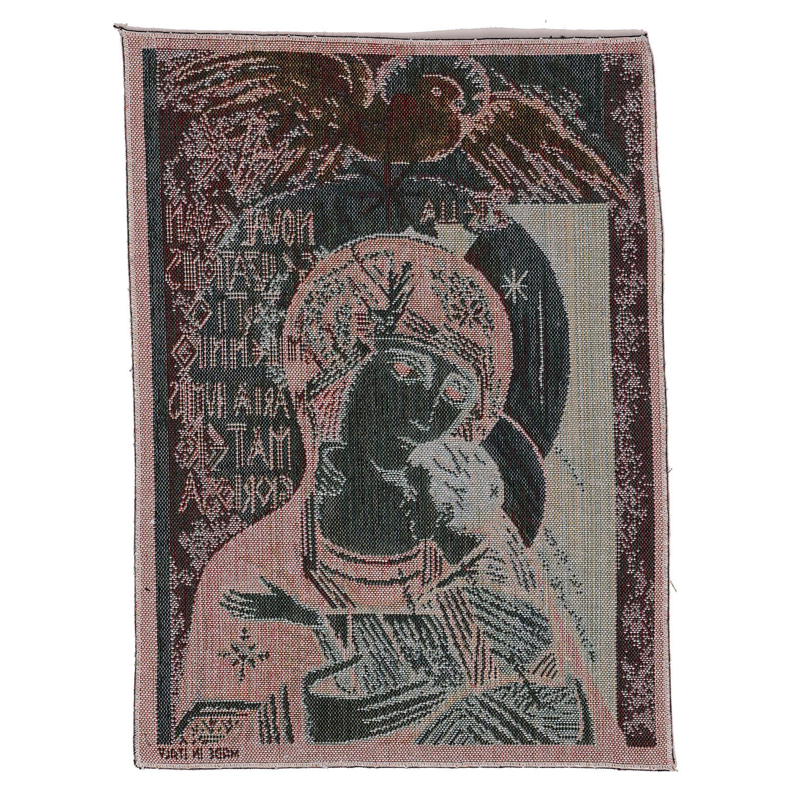 Arazzo Madonna del terzo millennio 40x30 cm 3