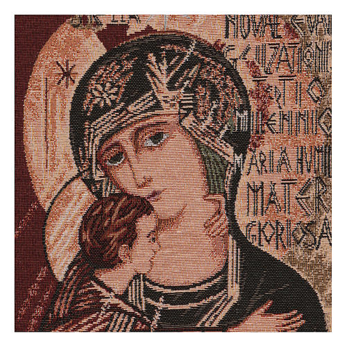 Arazzo Madonna del terzo millennio 40x30 cm 2