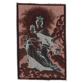 Arazzo Madonna del Monte Carmelo 40x30 cm s3
