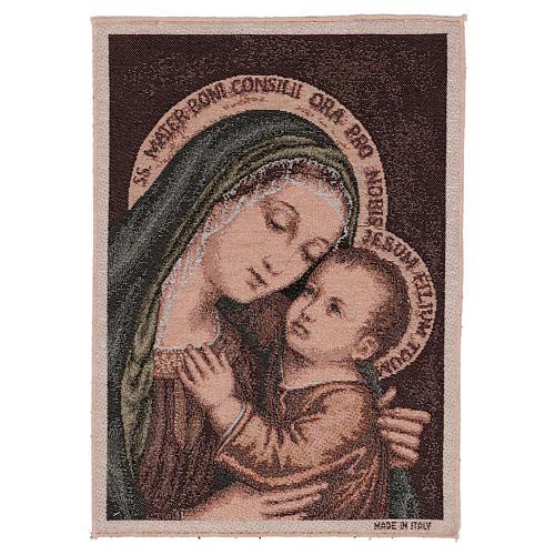 Gobelin Matka Boża Dobrej Rady 40x30 cm 1