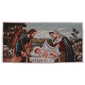 Holy Family tapestry 60x120 cm s1