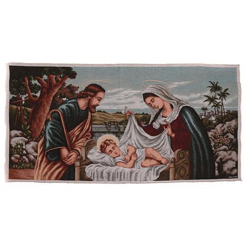 Holy Family tapestry 60x120 cm 1