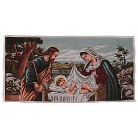 Tapisserie Sainte Famille 60x120 cm s1