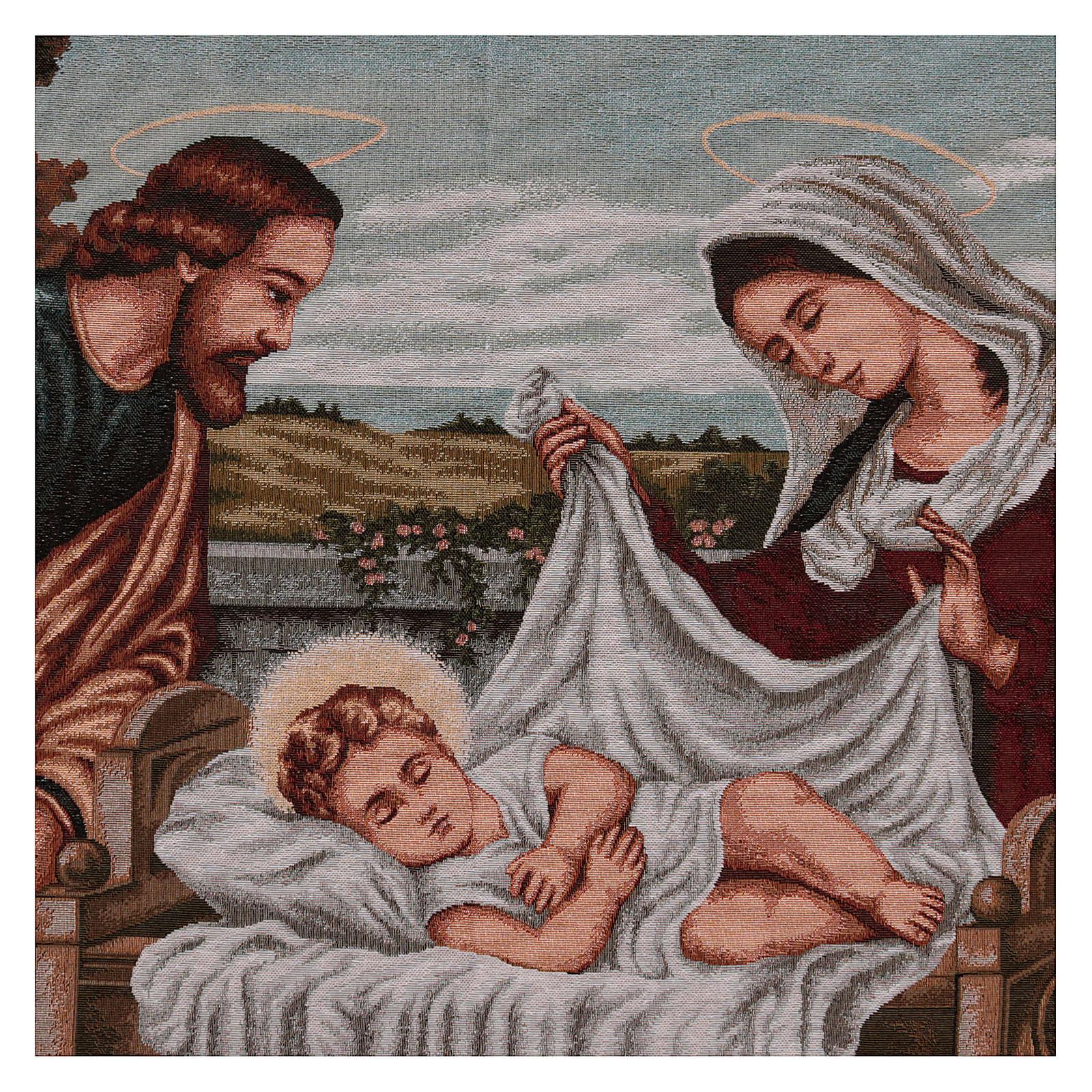 Gobelin Święta Rodzina 60x120 cm 3
