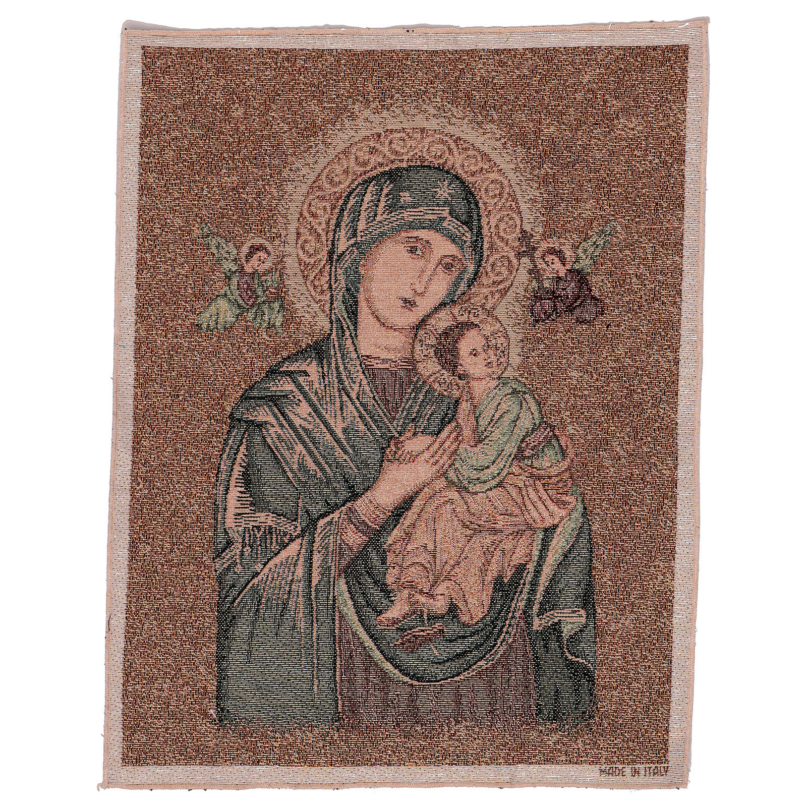 Our Lady of Perpetual Help tapestry 50x40 cm 3