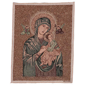 Our Lady of Perpetual Help tapestry 50x40 cm s1