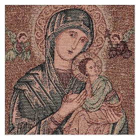 Our Lady of Perpetual Help tapestry 50x40 cm s2
